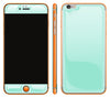 Mint / Neon Orange <br>iPhone 6/6s Plus - Glow Gel Combo
