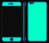 Navy Blue / Neon Green <br>iPhone 6/6s Plus - Glow Gel Combo