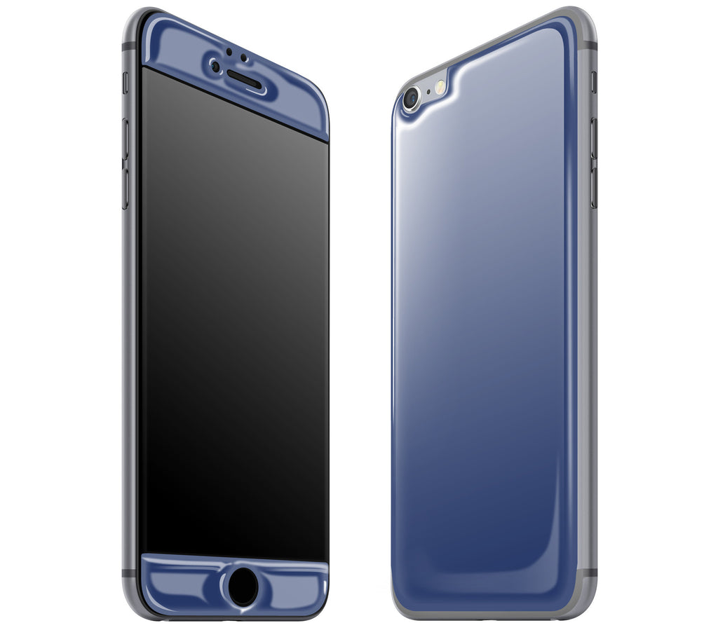 Navy Blue <br>iPhone 6/6s Plus - Glow Gel Skin