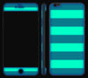 Nautical Striped <br>iPhone 6/6s Plus - Glow Gel Skin