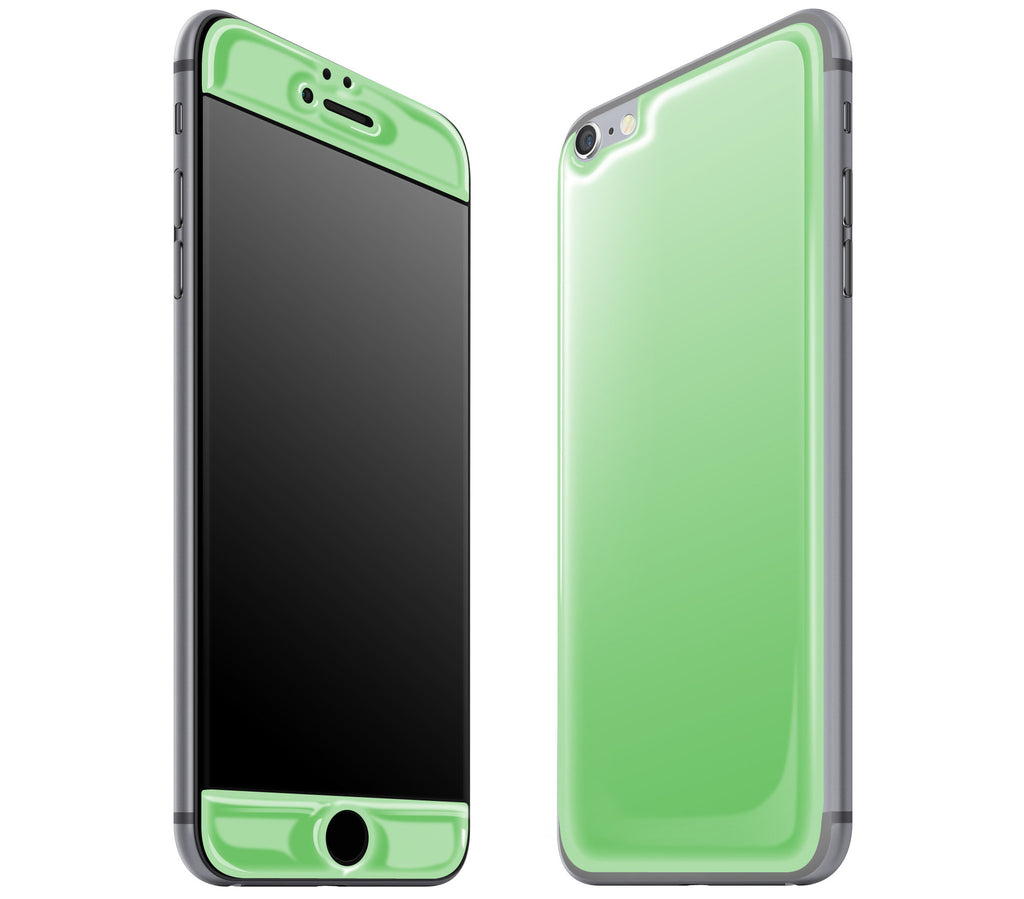 Apple Green <br>iPhone 6/6s Plus - Glow Gel Skin