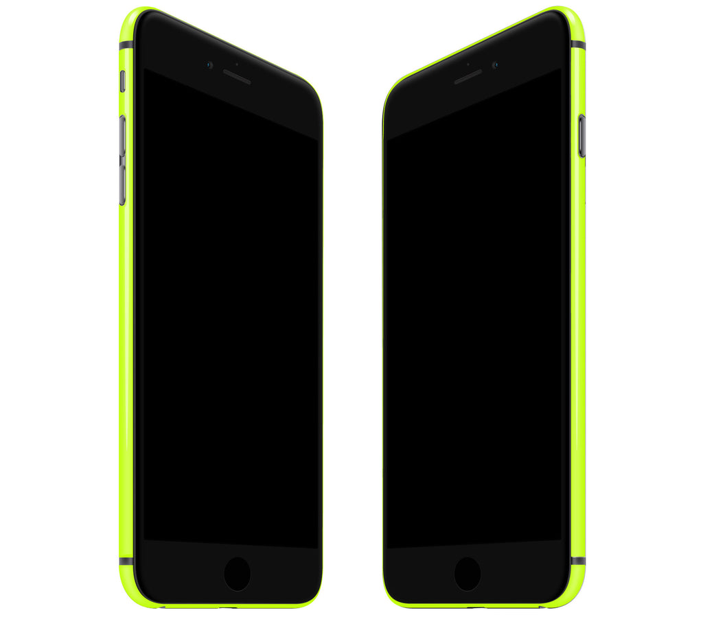 Neon Yellow <br>Rim Skin - iPhone 7/8 Plus
