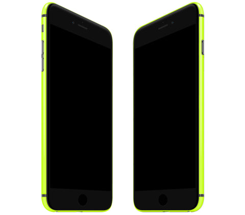 Neon Yellow <br>Rim Skin - iPhone 7 Plus