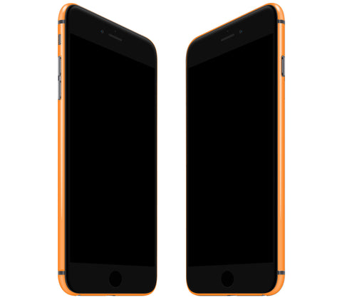 Neon Orange <br>Rim Skin - iPhone 7/8 Plus