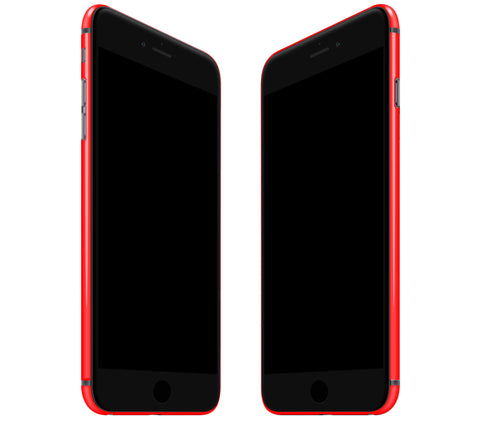 Neon Red <br>Rim Skin - iPhone 7 Plus