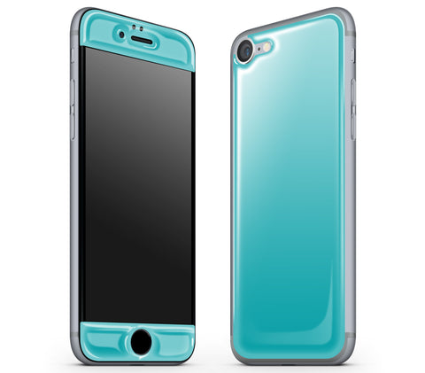 Teal <br>iPhone 7/8 - Glow Gel Skin