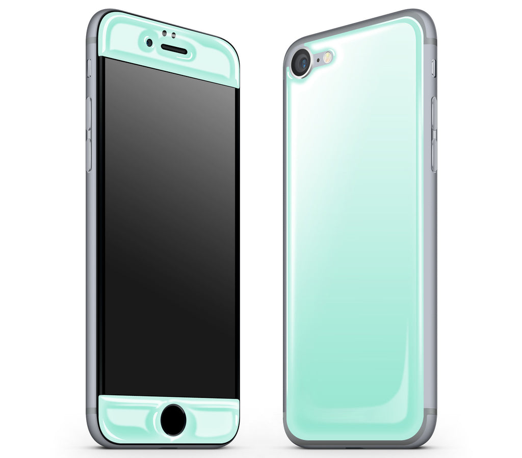 Mint <br>iPhone 7 - Glow Gel Skin