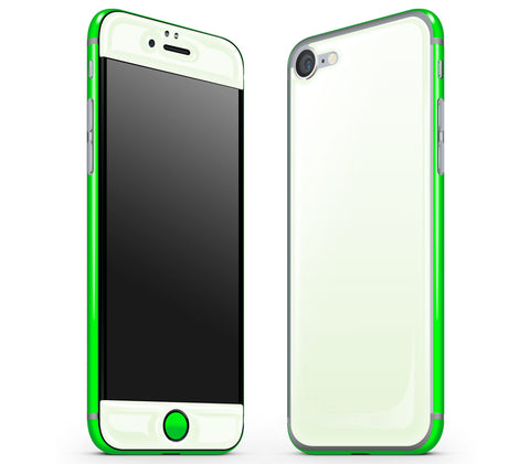 Atomic Ice / Neon Green <br>iPhone 7/8 - Glow Gel Combo