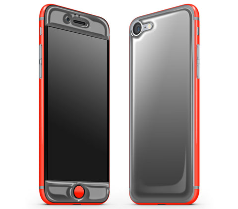 Graphite / Neon Red <br>iPhone 7/8 - Glow Gel Combo