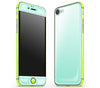 Mint / Neon Yellow <br>iPhone 7/8 - Glow Gel Combo