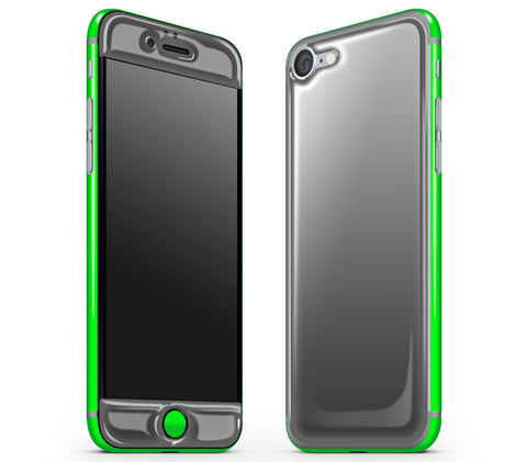 Graphite / Neon Green <br>iPhone 7 - Glow Gel Combo