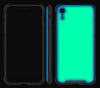 Mint <br>iPhone XR - Glow Gel case