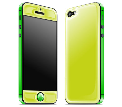 Citron / Green <br>iPhone 5 - Glow Gel Combo