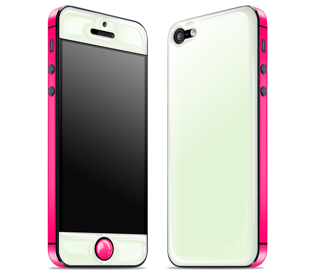Atomic Ice / Neon Pink <br>iPhone 5 - Glow Gel Combo