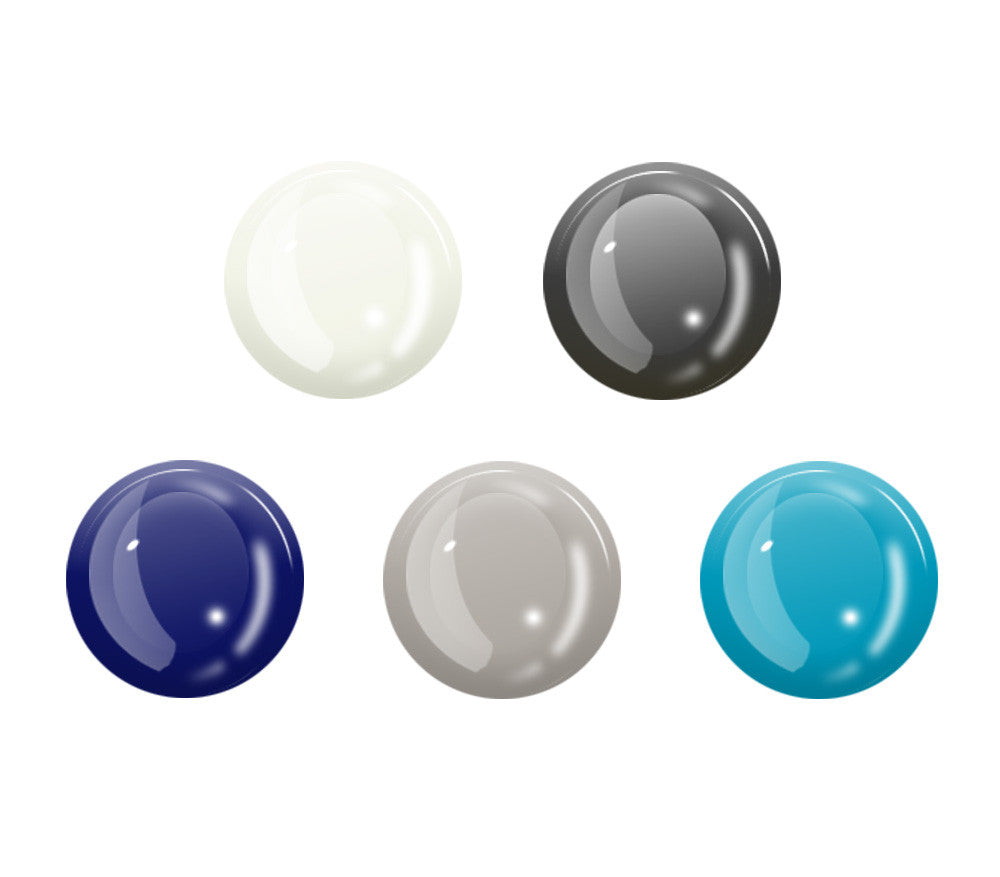 5 Pack Glow Gel Buttons <br>All iPhones, iPods, iPads