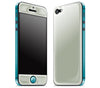 Steel Ash / Teal <br>iPhone 5 - Glow Gel Combo