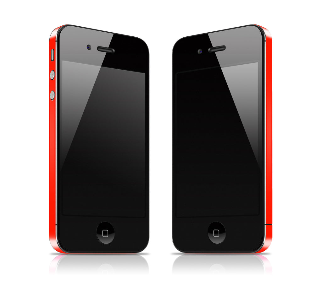 Fire Red <br>Rim Skin - iPhone 4 / 4s