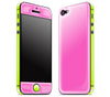 Cotton Candy / Neon Yellow <br>iPhone 5 - Glow Gel Combo