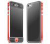 Graphite Pine / Fire Red <br>iPhone 5 - Glow Gel Combo