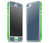 Vintage Navy / Green <br>iPhone 5 - Glow Gel Combo