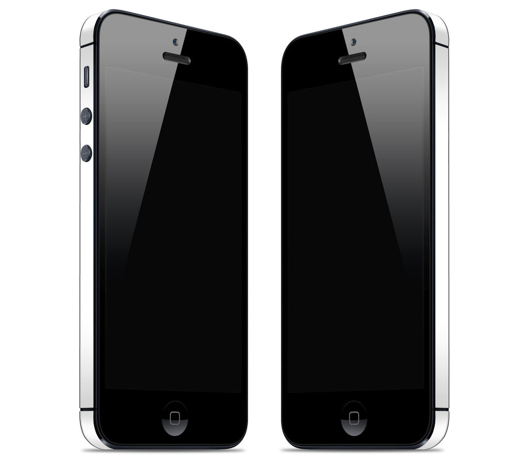 White <br>Rim Skin - iPhone 5/5s