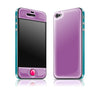 Grape / Teal / Neon Pink<br> Glow Gel skin - iPhone 4 / 4s