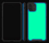 Teal <br>iPhone 11 - Glow Gel case