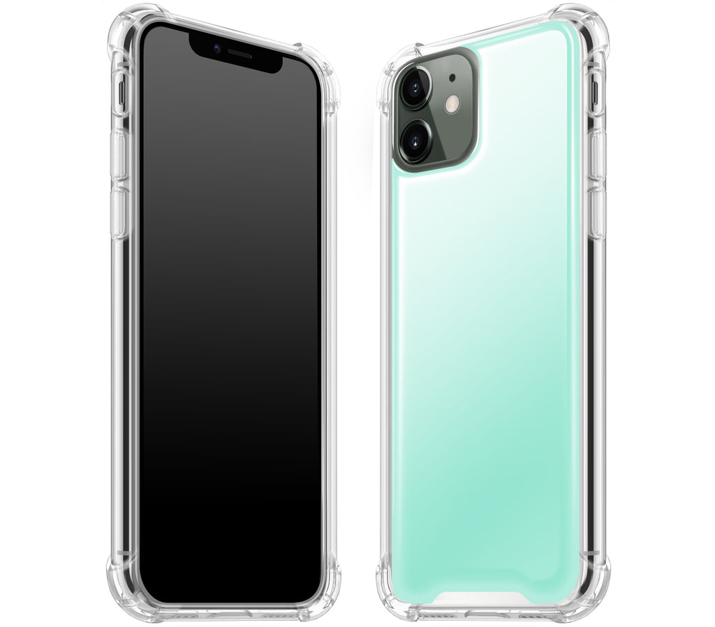 Mint <br>iPhone 11 - Glow Gel case