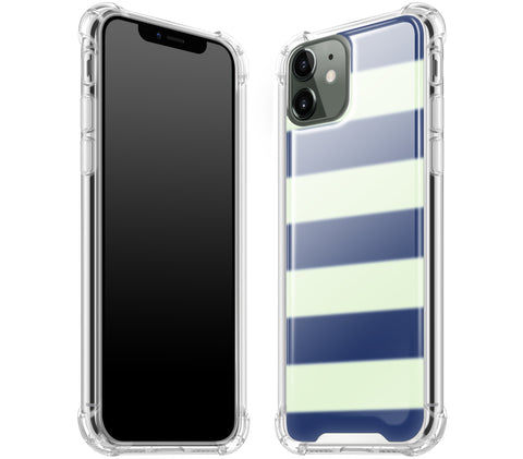 Nautical Striped <br>iPhone 11 - Glow Gel case