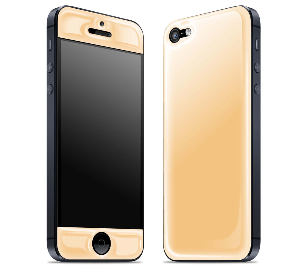 Peach <br>iPhone 5 - Glow Gel Skin