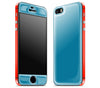 Electric Blue / Fire Red <br>iPhone 5s - Glow Gel Combo