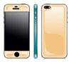 Champagne / Teal <br>iPhone 5s - Glow Gel Combo