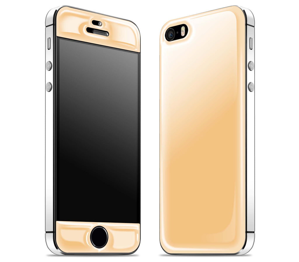 Champagne / White <br>iPhone 5s - Glow Gel Combo