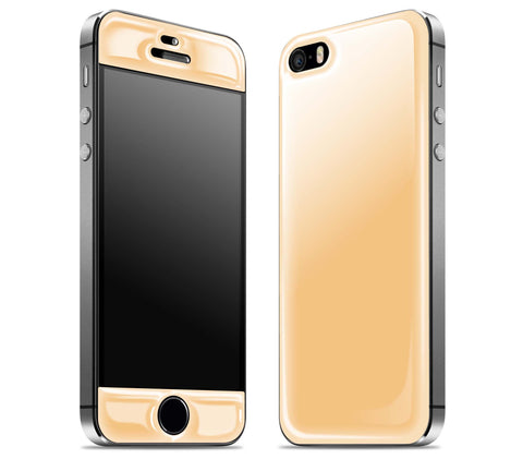 Champagne <br>iPhone 5s - Glow Gel Skin