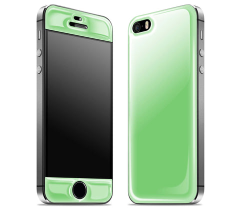 Apple Green <br>iPhone 5s - Glow Gel Skin