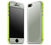 Steel Ash / Neon Yellow <br>iPhone 5s - Glow Gel Combo