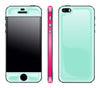 Mint / Neon Pink <br>iPhone 5s - Glow Gel Combo