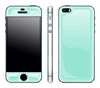 Mint / White <br>iPhone 5s - Glow Gel Combo