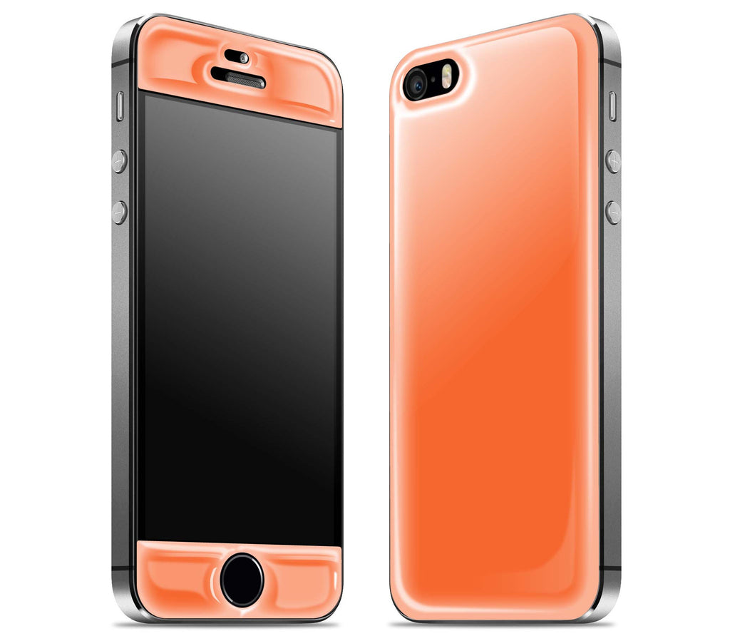 Tangerine Orange <br>iPhone 5s - Glow Gel Skin