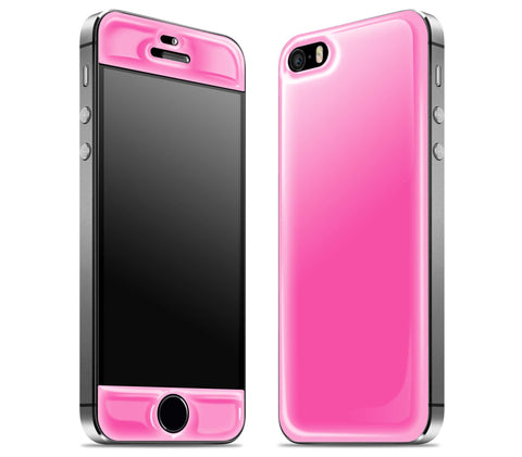 Cotton Candy <br>iPhone 5s - Glow Gel Skin