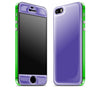 Purple / Green <br>iPhone 5s - Glow Gel Combo