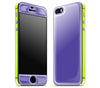 Purple / Neon Yellow <br>iPhone 5s - Glow Gel Combo