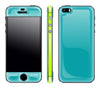 Teal / Neon Yellow <br>iPhone 5s - Glow Gel Combo
