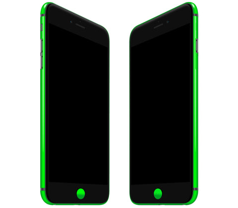 Neon Green <br>Rim Skin - iPhone 7 Plus