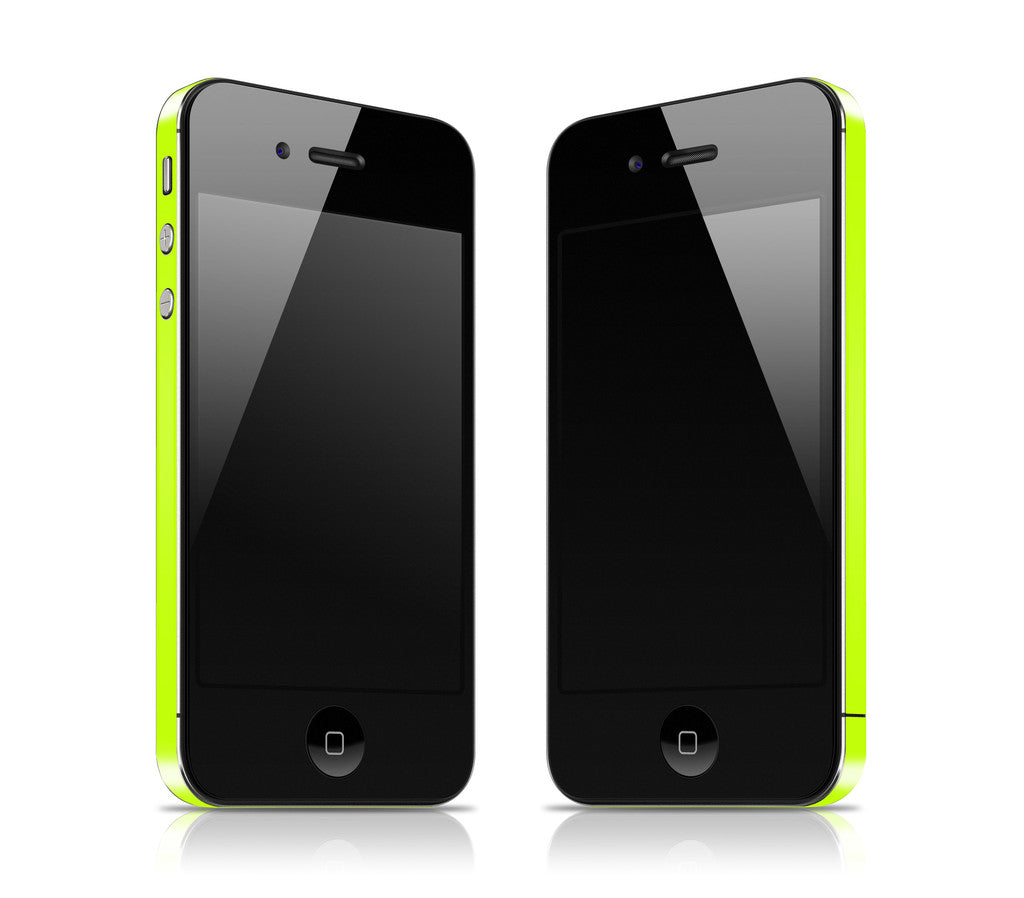 Neon Yellow <br>Rim Skin - iPhone 4 / 4s