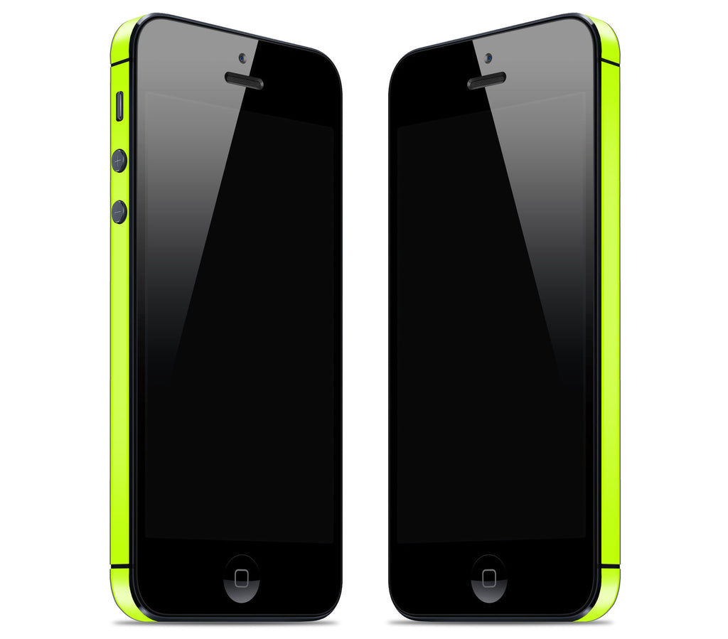 Neon Yellow <br>Rim Skin - iPhone 5/5s
