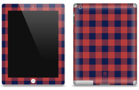 Western Plaid <br>Matte Skin - iPad 2 & 3