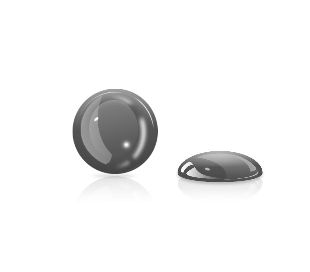 Charcoal Gel Button <br>All iPhones, iPods, iPads