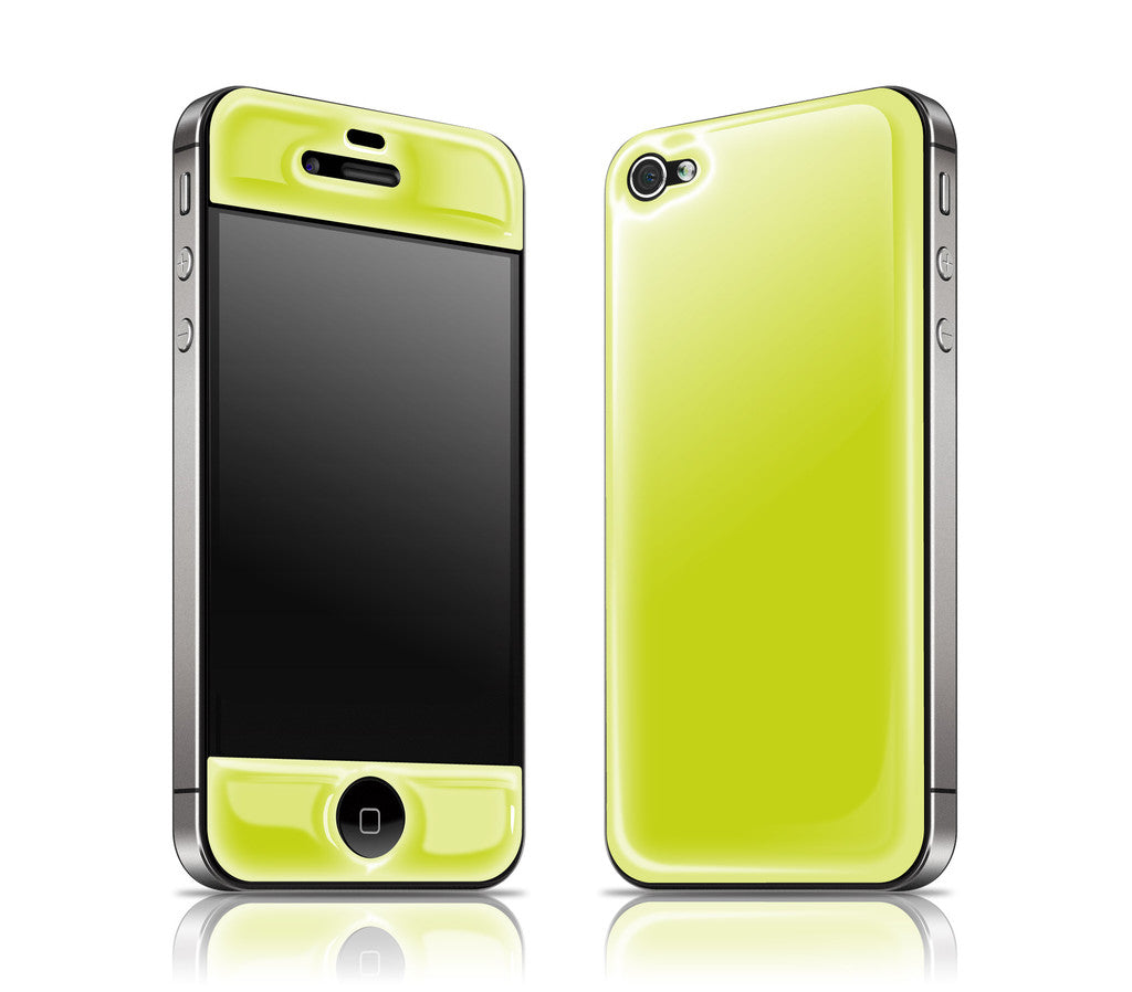 Citron<br> Glow Gel skin - iPhone 4 / 4s