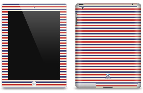 Vintage Multi Striped <br>Matte Skin - iPad 2 & 3